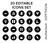 navigation icons. set of 20...