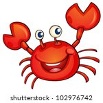1,adorable,animal,cancer,cartoon,character,childrens,clip-art,clipart,clipping path,color,colorful,comic,comical,crab