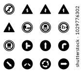 solid vector icon set   no... | Shutterstock .eps vector #1029776302