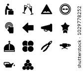 solid vector icon set   baby... | Shutterstock .eps vector #1029778252