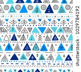 vector seamless pattern with... | Shutterstock .eps vector #1029784192