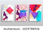abstract vector layout... | Shutterstock .eps vector #1029788926