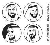sheikh zayed    founder of... | Shutterstock .eps vector #1029795382