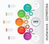 vector infographic of... | Shutterstock .eps vector #1029805366