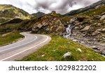 landscape with rocks  sunny sky ...   Shutterstock . vector #1029822202