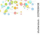 social media marketing ... | Shutterstock .eps vector #1029838438