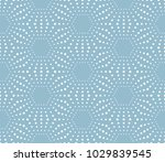abstract geometric pattern of... | Shutterstock . vector #1029839545