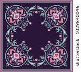 vector abstract decorative... | Shutterstock .eps vector #1029840046