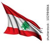 lebanon flag   collection no_4   Shutterstock . vector #102984866