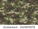 woodland summer camouflage.... | Shutterstock .eps vector #1029859078