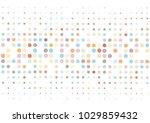 funny vector pastel polka dots...   Shutterstock .eps vector #1029859432