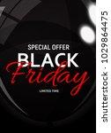 black friday sale banner... | Shutterstock .eps vector #1029864475