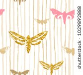 seamless watercolor stripes... | Shutterstock .eps vector #1029892888