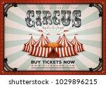 vintage circus poster...
