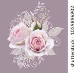 decorative decoration  paisley... | Shutterstock . vector #1029896902