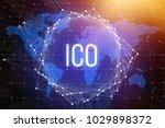 creative ico texture....   Shutterstock . vector #1029898372