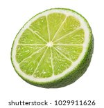 lime isolated on white... | Shutterstock . vector #1029911626