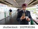 portrait of young handsome... | Shutterstock . vector #1029930286