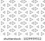 seamless geometric ornamental...   Shutterstock .eps vector #1029959512