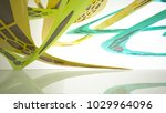 abstract white  brown and... | Shutterstock . vector #1029964096