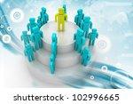 social network concept | Shutterstock . vector #102996665
