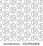 seamless vector pattern in... | Shutterstock .eps vector #1029966808