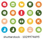 connection icons set | Shutterstock .eps vector #1029974695