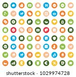 shopping icons set | Shutterstock .eps vector #1029974728