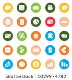 financial icons set | Shutterstock .eps vector #1029974782