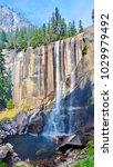 Vernal Fall  Yosemite Park  Usa
