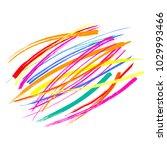 hand written quote holi hai ...   Shutterstock .eps vector #1029993466