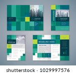 cover book design set  abstract ... | Shutterstock .eps vector #1029997576
