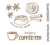 doodle hand drawn sketch... | Shutterstock .eps vector #1030023976