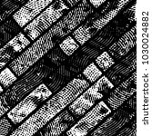 abstract grunge grid stripe... | Shutterstock .eps vector #1030024882