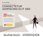 vector business concepts  the... | Shutterstock .eps vector #1030032436