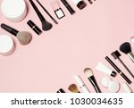 concept of a cosmetic tubes and ... | Shutterstock . vector #1030034635