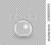 scientific glassware. realistic ... | Shutterstock .eps vector #1030053592