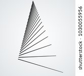 vector hipster triangle... | Shutterstock .eps vector #1030055956