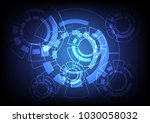 abstract vector background... | Shutterstock .eps vector #1030058032