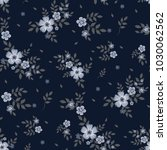 seamless floral pattern.... | Shutterstock .eps vector #1030062562