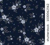 seamless floral pattern.... | Shutterstock .eps vector #1030062562