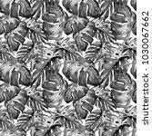 liana pattern watercolor... | Shutterstock . vector #1030067662