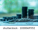 finance and investment concept... | Shutterstock . vector #1030069552