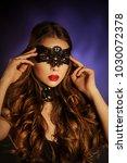 elegant hairstyle. beauty...   Shutterstock . vector #1030072378