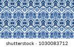 ikat seamless pattern. vector... | Shutterstock .eps vector #1030083712
