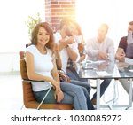 creative business team... | Shutterstock . vector #1030085272