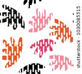 vector seamless pattern with ... | Shutterstock .eps vector #1030085515