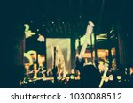 defocused entertainment concert ... | Shutterstock . vector #1030088512