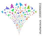 multicolored yuan burst...   Shutterstock .eps vector #1030090012