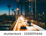 metropolitan traffic on... | Shutterstock . vector #1030095646